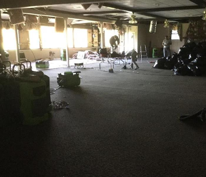 Fire & Water Damage at Country Club
