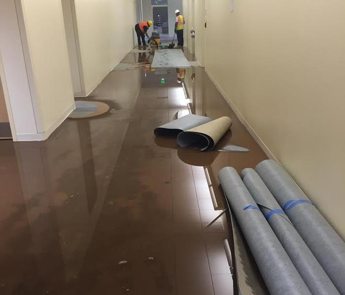 Water and Mud Damage Clean Up in Simsbury