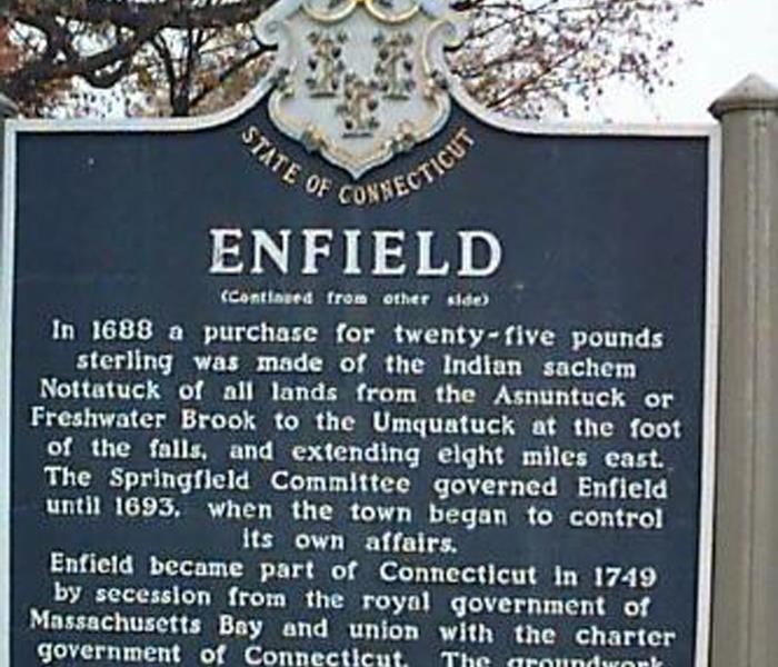 Enfield Historic Sign
