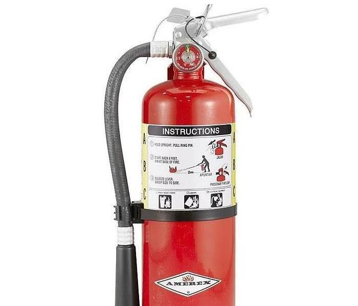 A fire extinguisher